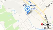 Новомосковск-2 на карте
