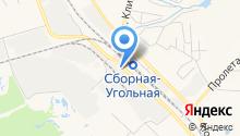 Новомосковскогнеупор на карте