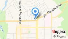 Автостоянка на ул. Щербакова на карте