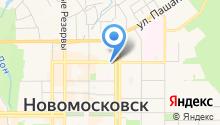 Первая Новомосковская контора аудита на карте