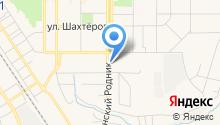 Волга и газель на карте