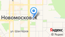 Record Новомосковск, FM 103.0 на карте