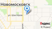 Новомосковский Н-ритуал на карте