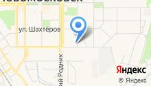 Магазин парфюмерии на ул. Маяковского на карте