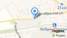 Хозпромторг на карте
