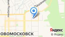Комитет ЗАГС г. Новомосковска на карте