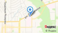 Новомосковская городская клиническая больница на карте