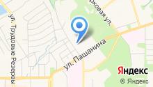 Новомосковская специальная (коррекционная) школа-интернат для детей-сирот и детей, оставшихся без попечения родителей на карте