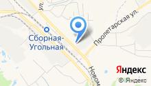Новомосковские электрические сети на карте