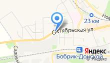 Приход храма в честь святого благоверного Дмитрия Донского на карте