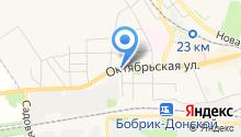 Нотариус Недорезова Л.В. на карте