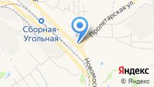 Автомойка на Первомайской на карте