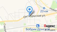 Магазин одежды на Октябрьской на карте