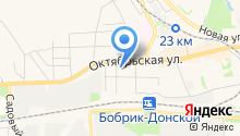 Дом культуры им. Молодцова, МБУК на карте