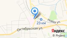 Донская городская больница №1 на карте