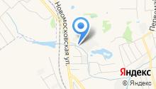 Донской кирпичный завод на карте