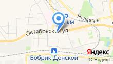 Дионис на карте