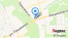 Магазин автозапчастей для иномарок на Рязанском шоссе на карте