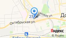 Бастион на карте