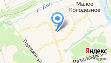 Автостоянка на ул. Генерала Белова на карте