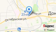 Магазин ковров и светотехники на карте