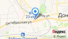 Магазин женской одежды на Октябрьской на карте