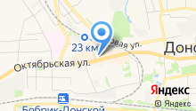 Среднерусская академия современного знания, АНО на карте