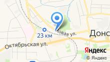 Магазин женской одежды на Новой на карте