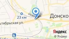 Магазин цветов на Октябрьской на карте
