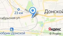 Отдел социальной защиты населения г. Донского на карте