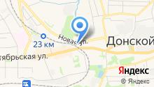 Центр занятости населения г. Донского на карте