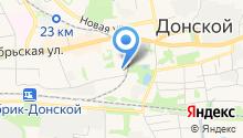 Прокуратура г. Донского на карте