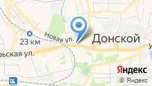 Секонд-хенд на Октябрьской на карте