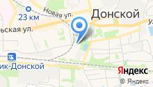 Донской спортивно-технический клуб ДОСААФ Тульской области на карте