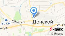 Отдел МВД России по г. Донской на карте