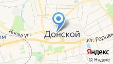 Участковая ветеринарная лечебница г. Донского на карте