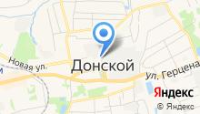 Отдел надзорной деятельности и профилактической работы по Узловскому, Киреевскому районам и г. Донской на карте