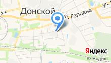 Газпром газораспределение Тула на карте