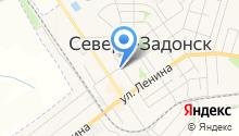 Магазин продуктов на ул. Горького на карте