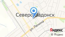 Автостоянка на ул. Горького на карте