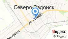 Северо-Задонские колбасы и полуфабрикаты на карте