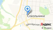 Рублевский на карте