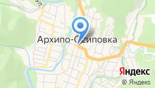 Администрация Архипо-Осиповского внутригородского округа на карте