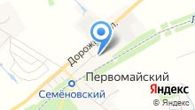 Почтовое отделение №140450 на карте