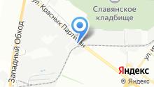 АвтоШоп на карте