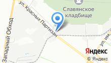 RED Service на карте