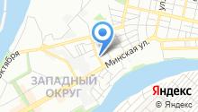 Автомойка на Харьковской на карте