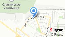 Glonass-Юг на карте