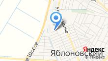 Яблоновская городская библиотека №4 на карте