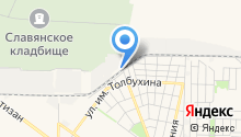 Автосервис на Круговой на карте